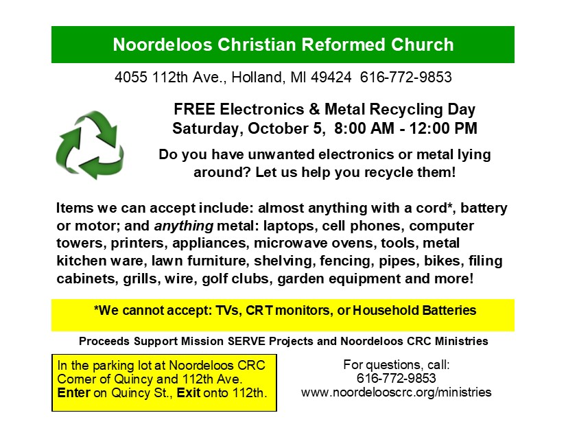 Metal Recycle Event